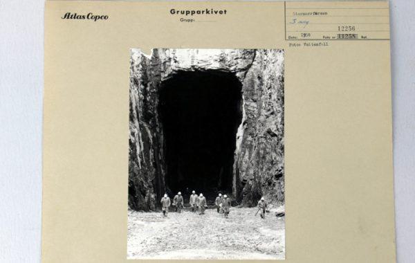 Fotografi, 1958, Atlas Copcos arkiv.
