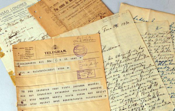 Korrespondens, 1930, Telefonaktiebolaget LM Ericssons arkiv.