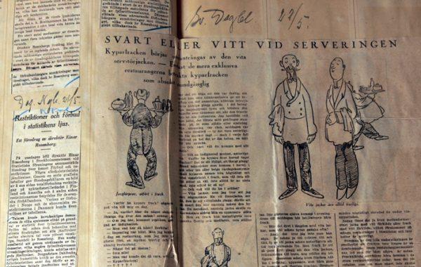 Pressklipp, 1926, SARAs arkiv.