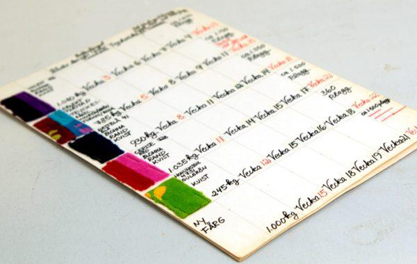 Tygprover, 1974, Mah-Jongs arkiv.