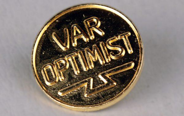 Optimistnål, ca 1932, AGA, Allmänna Gas Aktiebolagets arkiv.