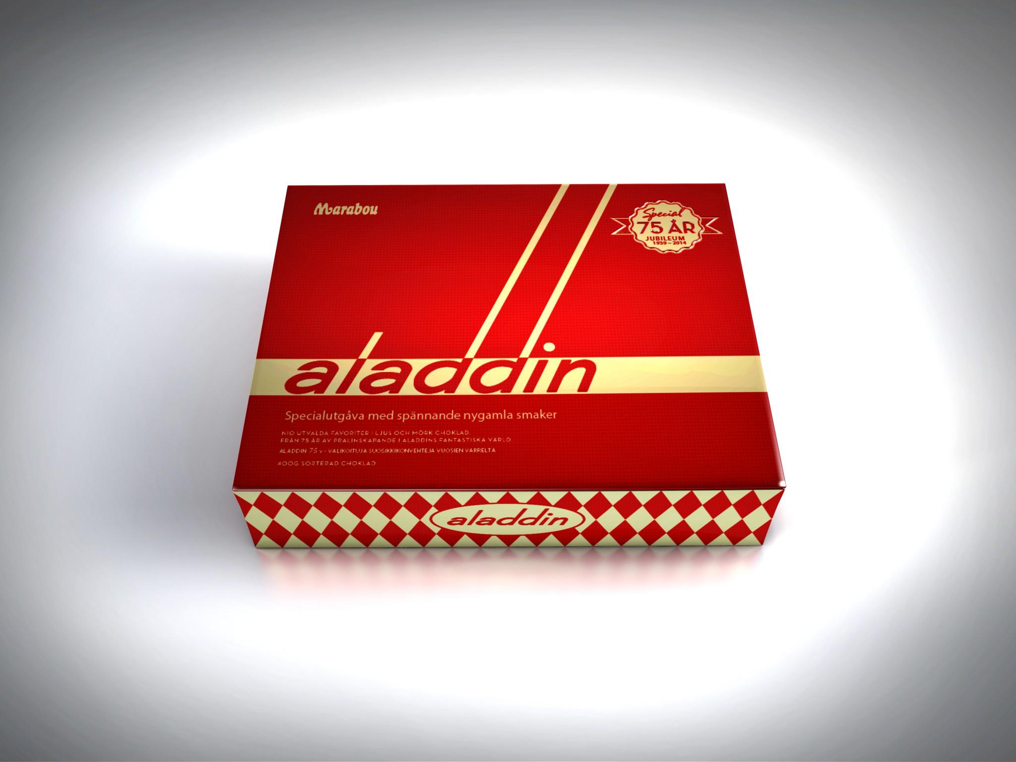 marabou choklad aladdin